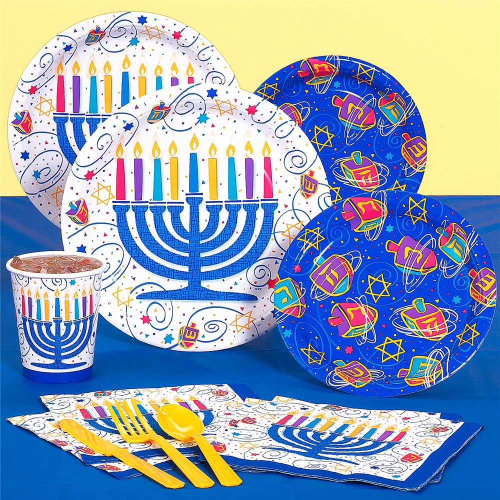 Channukah party supplies
