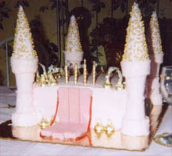 Princess Cake -- front view